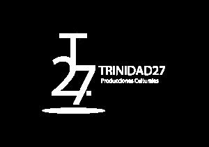 Logo Trinida27 blanco